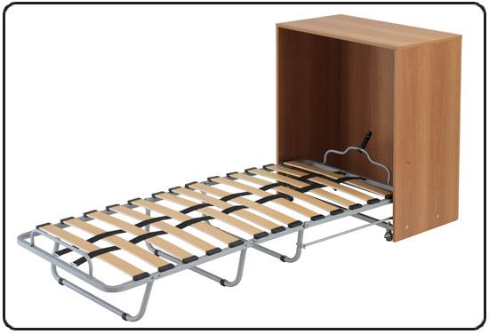Immagini rete pieghevole con struttura a ponte letti e materassi - Rete e materasso ikea ...