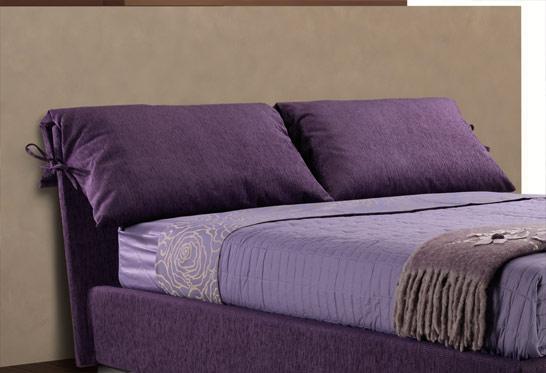 Letti imbottiti tessili con sollevamento orizzontale da 120 letti e materassi - Pistoni sollevamento letto ...