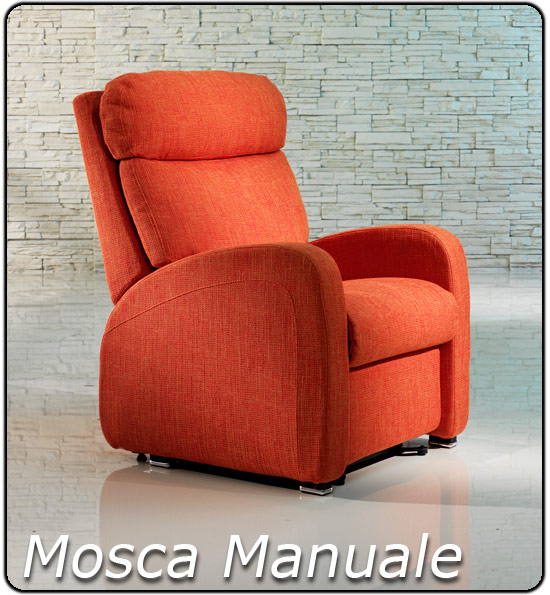 Poltrone Relax Regolabili a Mano | Letti e Materassi