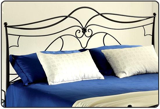 Testate da letto matrimoniali in ferro letti e materassi - Testate per letto ...